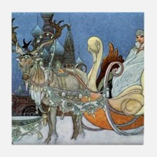 Snow Queen Ice Princess Tile Coaster