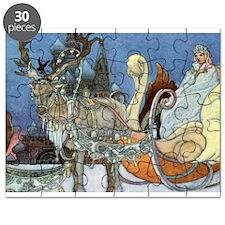 Snow Queen Ice Princess Puzzle