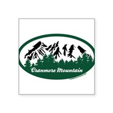 """Dartmouth Skiway State Park Square Sticker 3"""" x 3"""""""