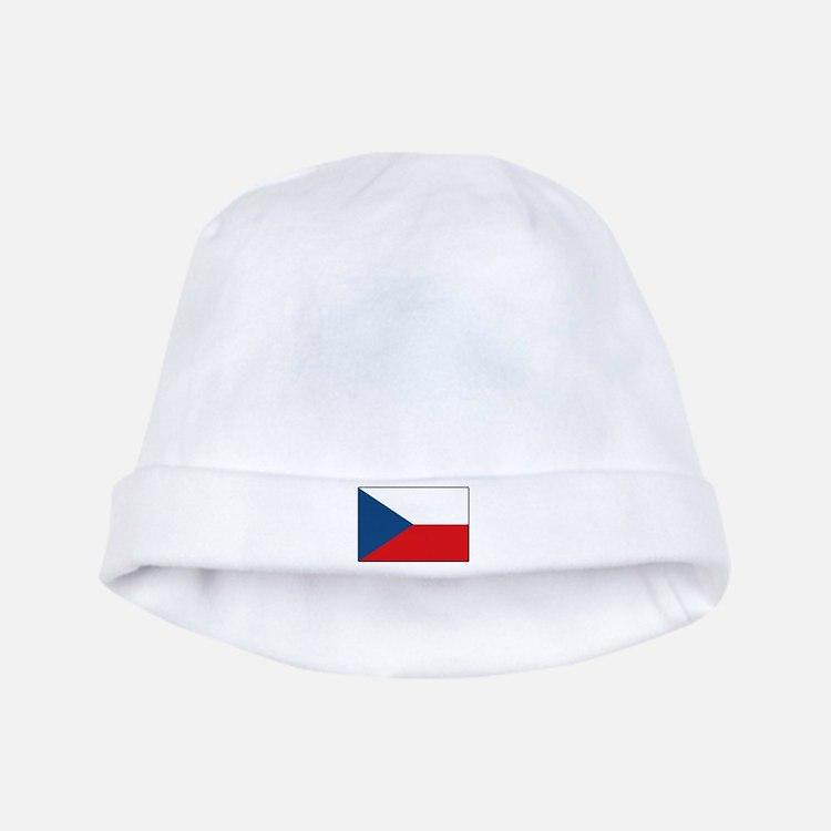 Czech Flag Baby Hat