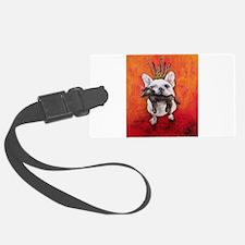 LeRoi the French Bulldog Luggage Tag