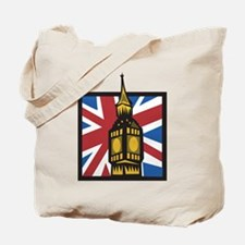 England Big Ben Tote Bag