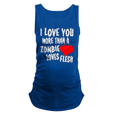 Zombie Love Maternity Tank Top