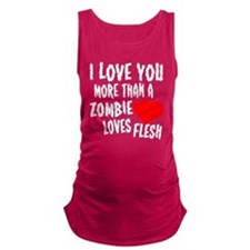 Zombie Love Maternity Tank Top
