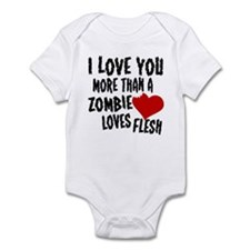 Zombie Love Infant Bodysuit