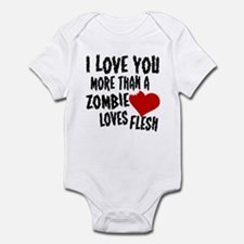 Zombie Love Infant Bodysuit