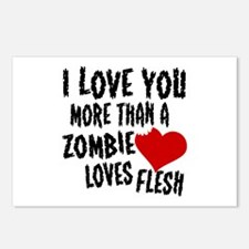 Zombie Love Postcards (Package of 8)
