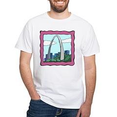 Gateway Arch White T-Shirt