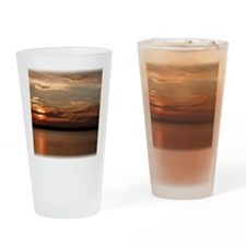 Spectacular Sunset Drinking Glass