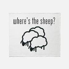 Where's The Sheep? Throw Blanket