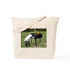 Cute Pianist Tote Bag