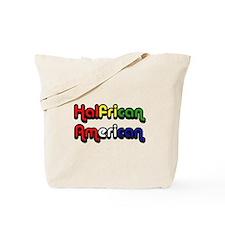 Halfrican American Tote Bag