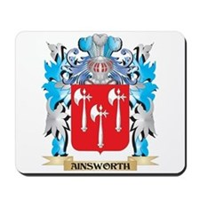 Ainsworth Coat Of Arms Mousepad