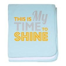 Time To Shine baby blanket