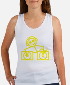 DJman Yellow Women's Tank Top