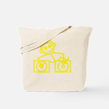 DJman Yellow Tote Bag