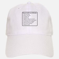 Don't Ask a PhD Baseball Baseball Cap