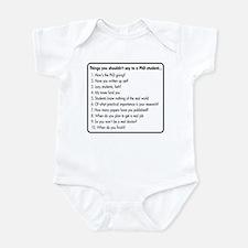 Don't Ask a PhD Infant Bodysuit