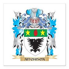 """Aitchison Coat Of Arms Square Car Magnet 3"""" x 3"""""""