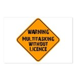Don't Multitask With This Postcards (Package of 8)