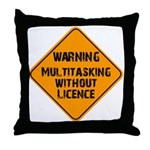 Don't Multitask With This Throw Pillow