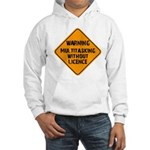 Don't Multitask With This Hooded Sweatshirt