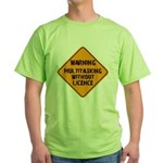Don't Multitask With This Green T-Shirt