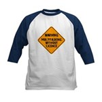 Don't Multitask With This Kids Baseball Jersey