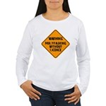 Don't Multitask With This Women's Long Sleeve T-Sh
