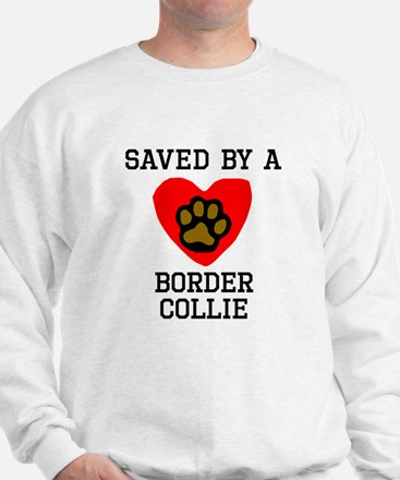 Saved By A Border Collie Jumper