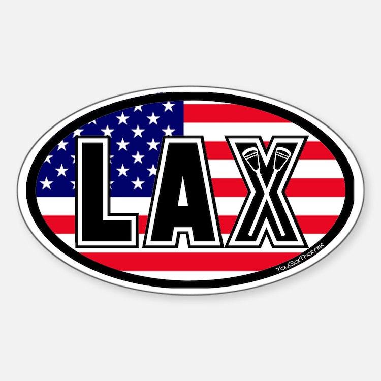 Lacrosse_Flag_America_Large. Decal