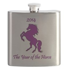 2014 - The Year of the Horse Flask