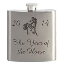 2014 -- The Year of the Horse Flask