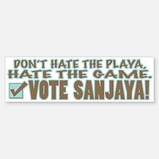 Vote Sanjaya Bumper Bumper Bumper Sticker