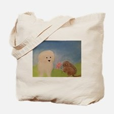 Lilli And The Pygmy Marmoset Tote Bag