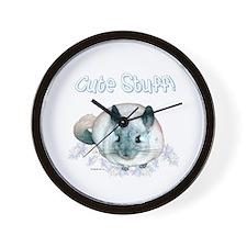 Chin Cute Wall Clock