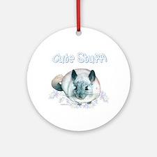 Chin Cute Ornament (Round)