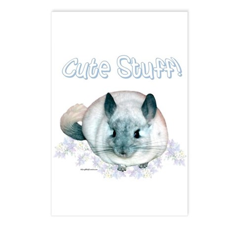 Chin Cute Postcards (Package of 8)