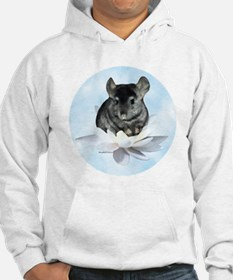 Chin Lily Blue Hoodie