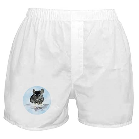 Chin Lily Blue Boxer Shorts