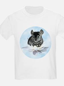 Chin Lily Blue T-Shirt