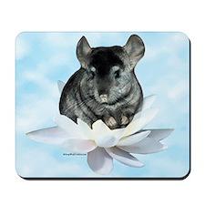Chin Lily Blue Mousepad