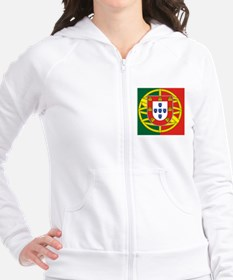 Portugal Flag Fitted Hoodie