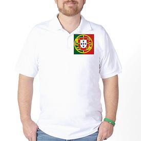 Portugal Flag Golf Shirt