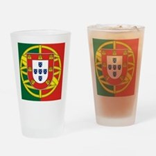 Portugal Flag Drinking Glass