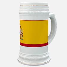 Spain Flag Stein