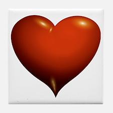Heart of Love Tile Coaster