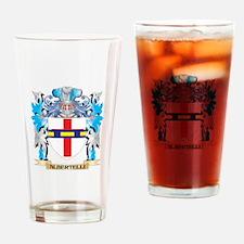Albertelli Coat Of Arms Drinking Glass