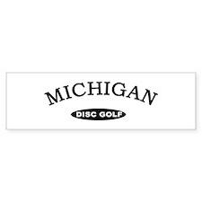 Michigan Disc Golf Bumper Sticker