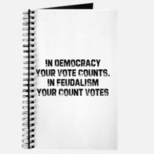 In Democracy Your Vote Counts Journal